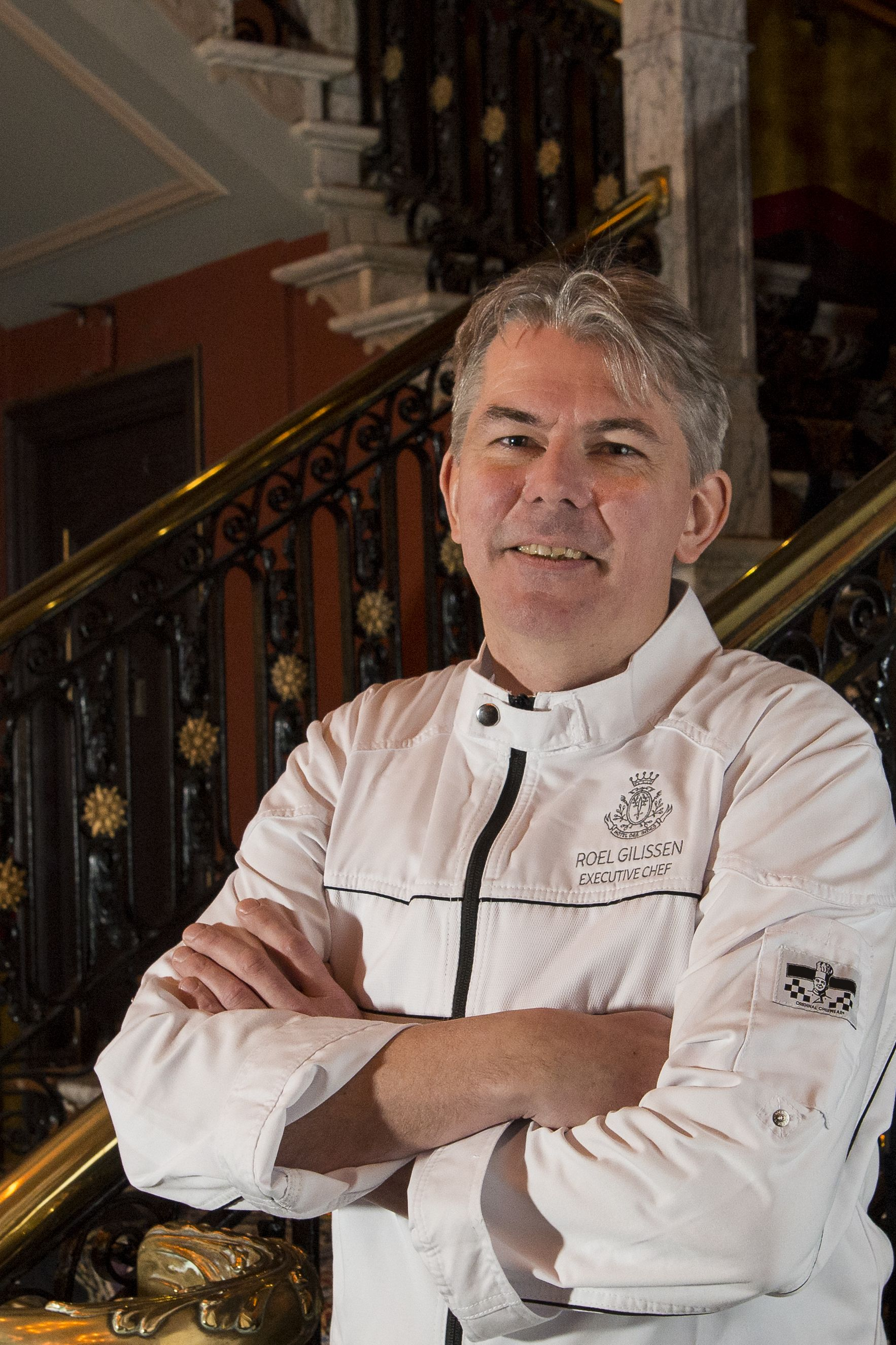 Hotel Des Indes, Restaurant, Executive Chef Roel Gilissen