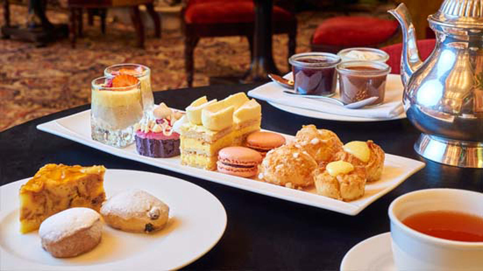 high tea  - des indes